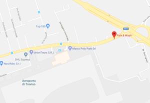 Mappa per raggiungere Park & Wash